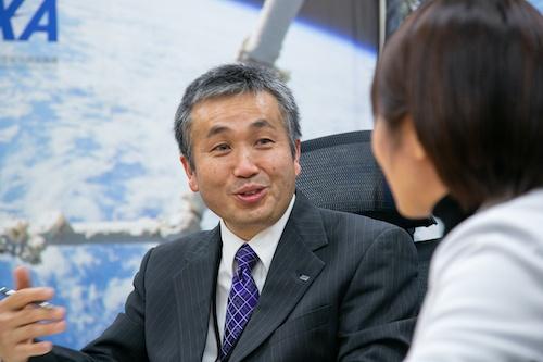 宇宙航空研究開発機構(JAXA)理事・有人宇宙技術部門長で、宇宙飛行士の若田光一氏