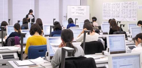 首都圏や大阪を中心に全国14カ所に研修所を設けた(写真提供:みずほフィナンシャルグループ)