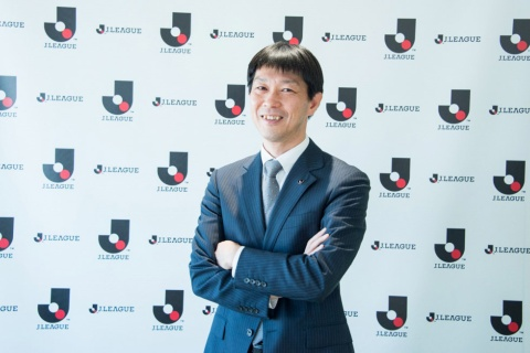eJ.LEAGUEを手掛けるJリーグマーケティングの窪田慎二社長
