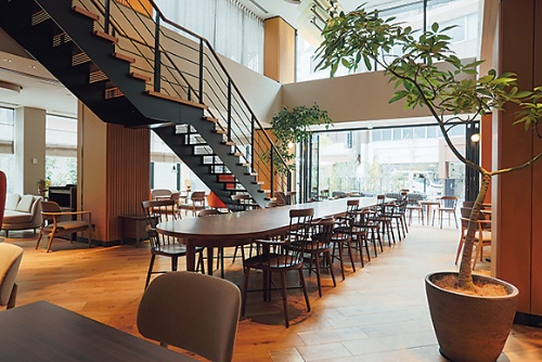 ノーガホテル上野のレストラン(写真:野村不動産)