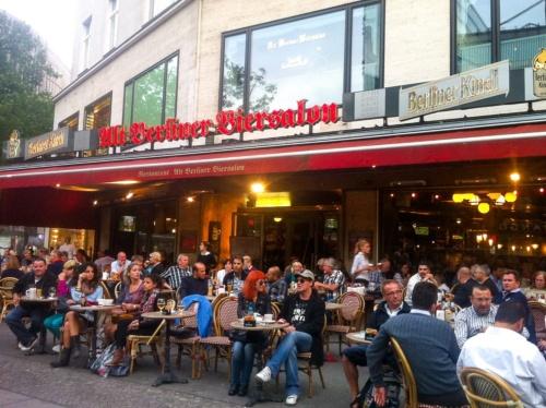 クアフュルステンダムのレストラン
