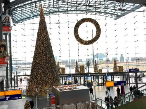 ベルリン中央駅の周辺は寂しい