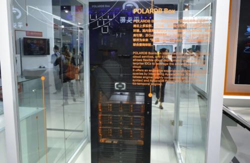 Apsara Conference 2019で展示された「POLARDB Box」