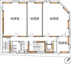 基準階(2~5階)平面図