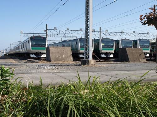 図1 JR東日本の川越車両センター