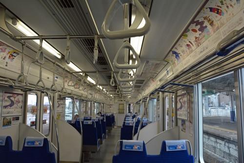 図2 TJライナー用の東武「50090型」の車内