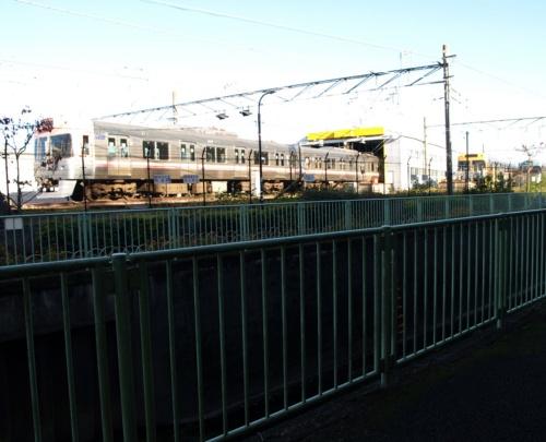 図2 京王電鉄の富士見ヶ丘検車区