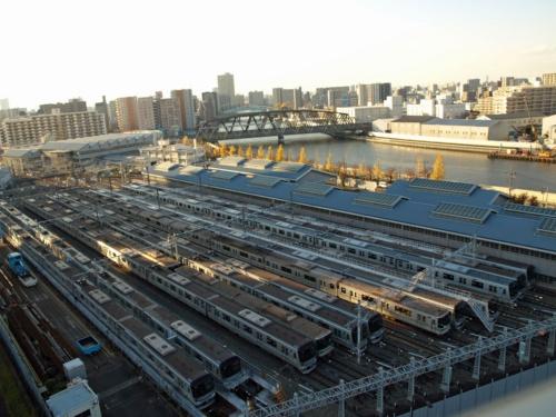 図3 東京地下鉄の千住検車区