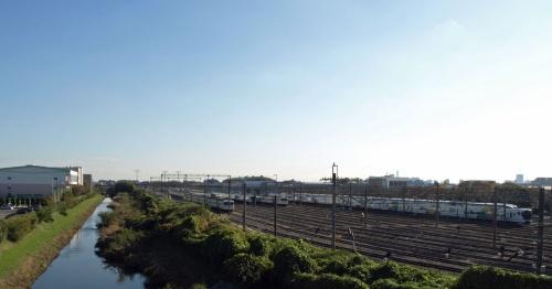 図1 JR東日本大宮総合車両センターの東大宮センター