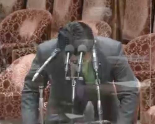 国会でデジタル改革関連法案の誤りを陳謝する平井卓也デジタル改革相