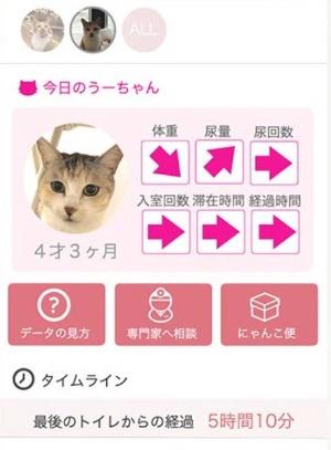 スマホアプリの画面例