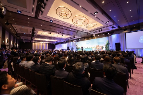 2019年4月に開催した「Salesforce 創業20周年スペシャルイベント」の様子