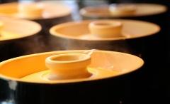 土鍋釜で常に炊きたてのご飯