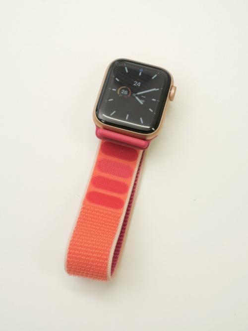 Apple Watch Series 5(写真:加藤 康)