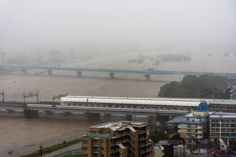 多摩川水位 二子玉川