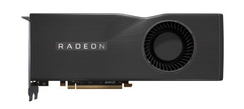 AMDから登場したPCIe 4.0対応GPU「Radeon RX 5700XT」を搭載したリファレンスグラフィックスカード。GPUコアは「RDNA」と呼ばれる新しいアーキテクチャーとなり、映像出力や動画関連機能を強化。位置付けはミドルハイで、エヌビディアのGeForce RTX 2060 SUPER/GeForce RTX 2070と競合関係にある
