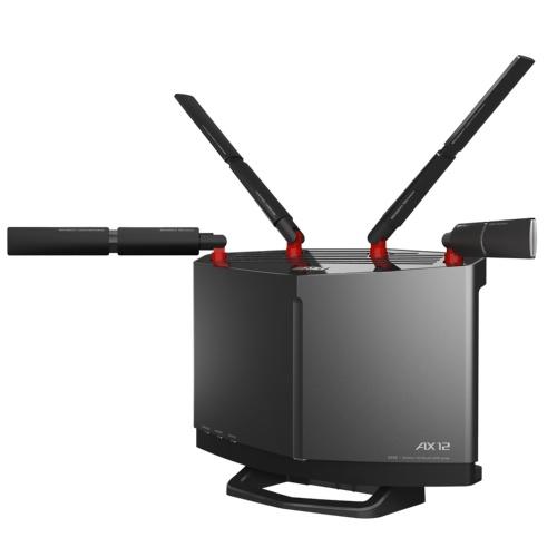 バッファローのWi-Fiルーター「WXR-5950AX12」は、Wi-Fi 6対応に加え、10GbE対応のWAN/LANポートを1つずつ装備。11月4日現在の実勢価格は4万4000円前後