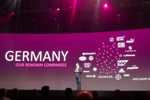 2019年10月のユーザー年次イベントに登壇した、ドイツテレコムのビジネス部門CEO
