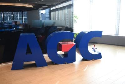 旭硝子から2018年7月にAGCに社名を変更した