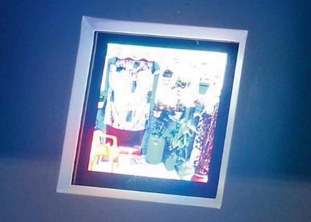 図2 京セラのマイクロLEDディスプレー