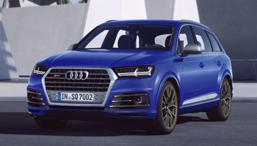 図2 Audi社のSUV「SQ7 TDI」