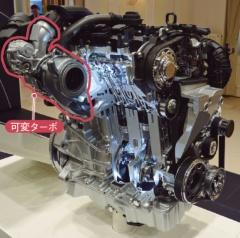 図7 ゴルフの「EA211 TSI Evo」エンジン