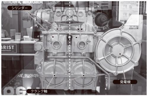 図4 オーストリアObrist Powertrain社が開発中の「HyperHybrid」のエンジン