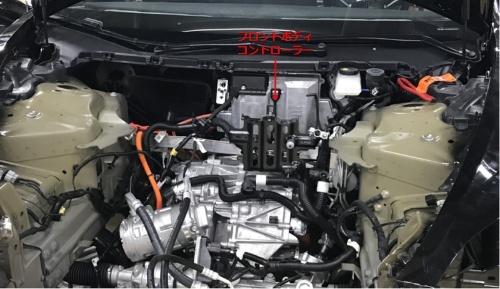 テスラ モデル3に搭載されているフロントボディコントローラー
