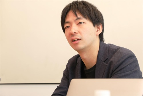 イタンジ代表取締役の野口真平氏(写真:都築 雅人)
