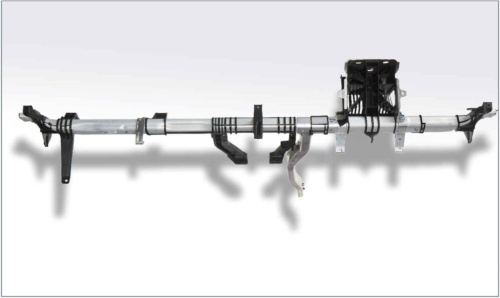 図2 異種材料接合を使ったクロスカービーム