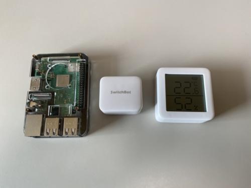 左からRaspberry Pi、Bot、Meter