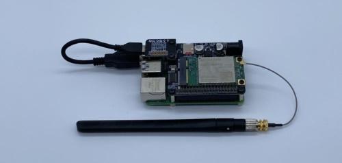 CANDY Pi Lite+とRaspberry Pi 4 Model B