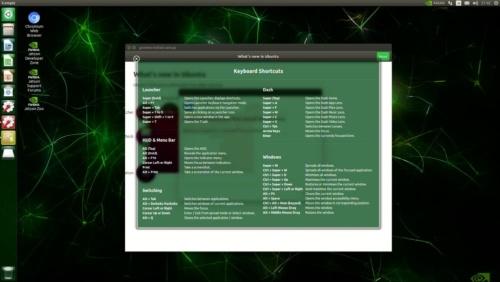 OSデスクトップ画面
