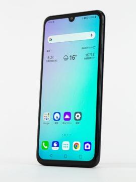 「LG G8X ThinQ」のスマートフォン部分。これだけで6.4型のハイエンドスマホとして使える