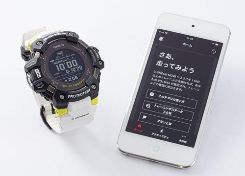 スマートフォンのアプリで自分の活動量を確認でき、それが運動を続けるために必要なモチベーション向上につながる。AndroidとiOSに対応する