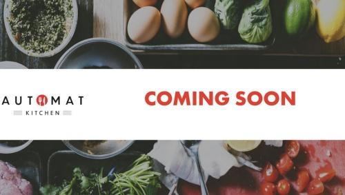 12月の店舗オープンを予告するAutomat Kitchenのサイト