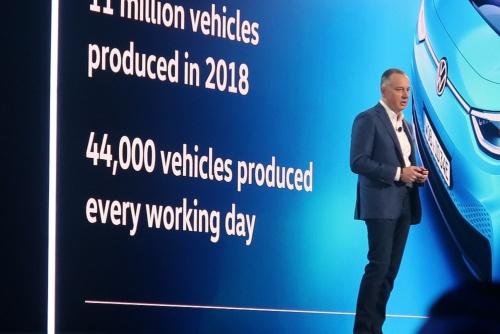 独フォルクスワーゲン(VW)でグループCIO(最高情報責任者)を務めるマーチン・ホフマン氏