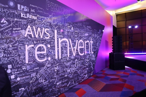 「AWS re:Invent 2019」の会場(米ラスベガス)