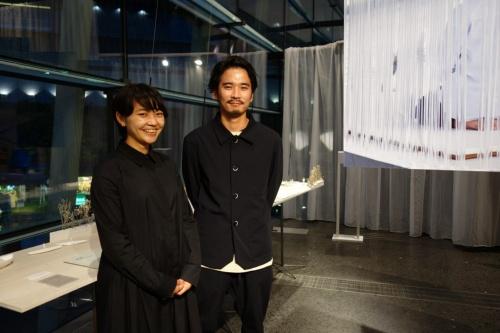 PAN-PROJECTSを共同主宰する高田一正氏(右手)と八木祐理子氏(写真:日経アーキテクチュア)