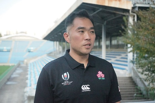 ラグビー日本代表の太田千尋コーチ