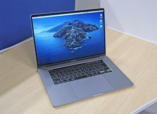 MacBook Pro 16インチモデルの全体像