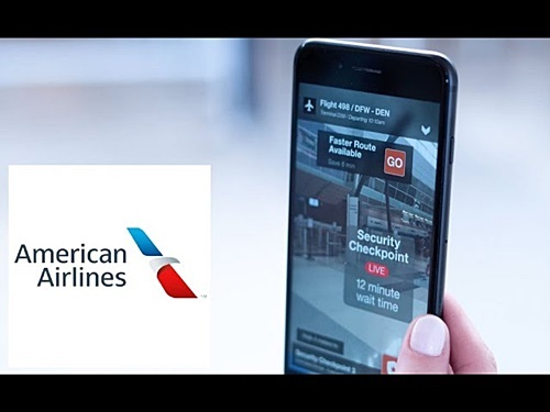 図1 Groove JonesとLocusLabsによる、American Airlinesの米国ダラス空港での「AR道案内」