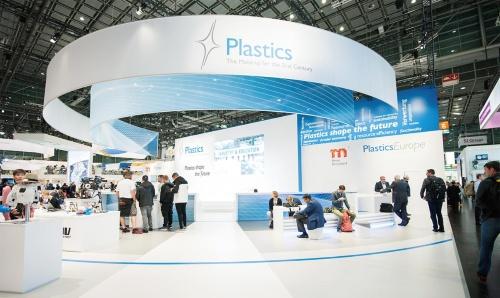 図1 K2019のスペシャル・ショー「プラスチックが未来を形づくる」のブース