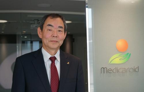 メディカロイドの田中博文常務