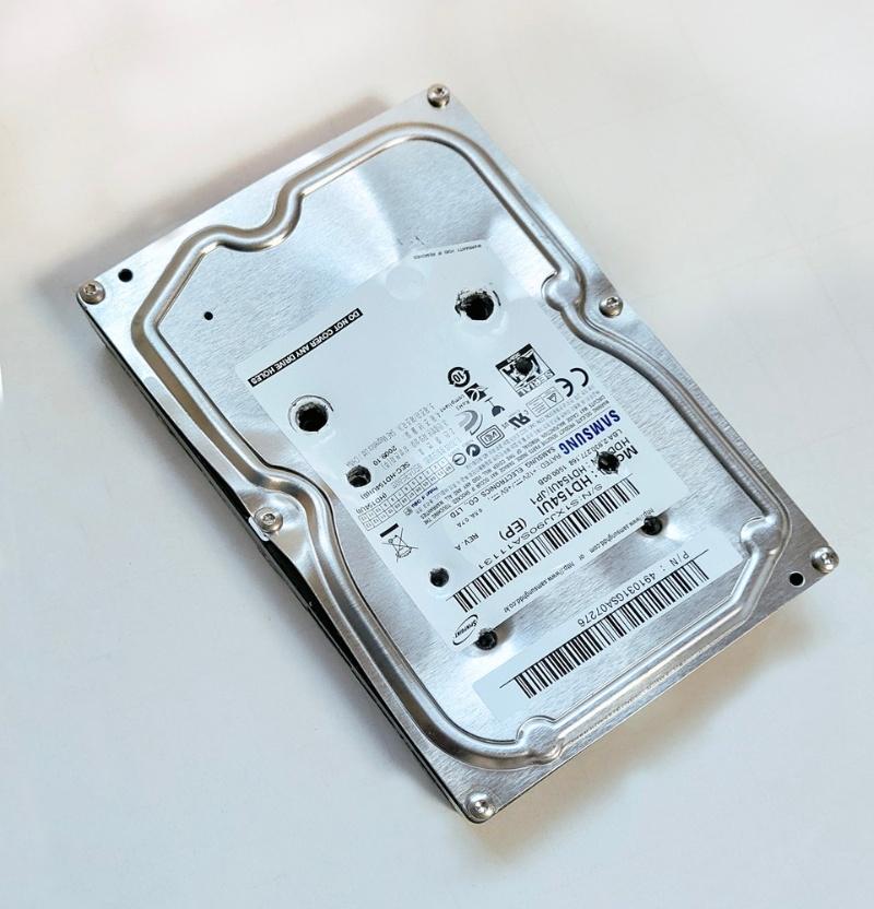破壊 ハードディスク ハードディスク(HDD)を物理的に破壊する[パソコンの壊し方]