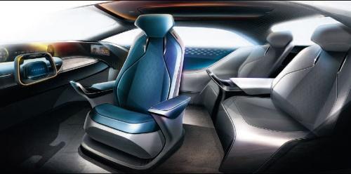図3 未来の車室内を提案(トヨタ紡織、アイシン精機、デンソー、豊田合成、東海理化)