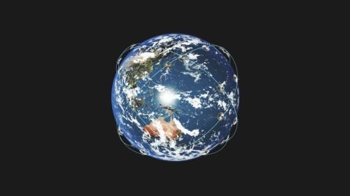 iQPSの衛星は軌道傾斜角45°の軌道面4つに、各9機の衛星を配置する。