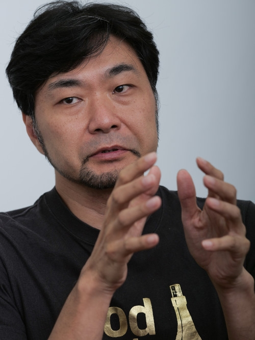 田子學氏 (写真:加藤 康)