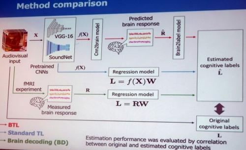 3つのモデル(上からBTL、Standard TL、Brain Decoding)を使い、予測精度を検証した