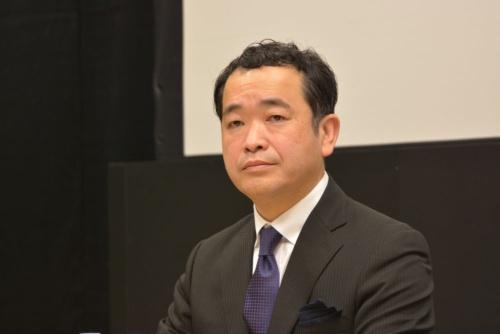 図3 新型アコードの開発責任者の宮原哲也氏